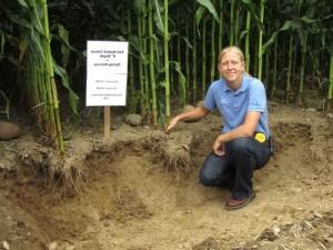 Missy Bauer, Top Field Agronomist and Corn Belt On-farm Test Plot Specialist
